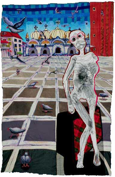 Artist's 1st trip to Venice