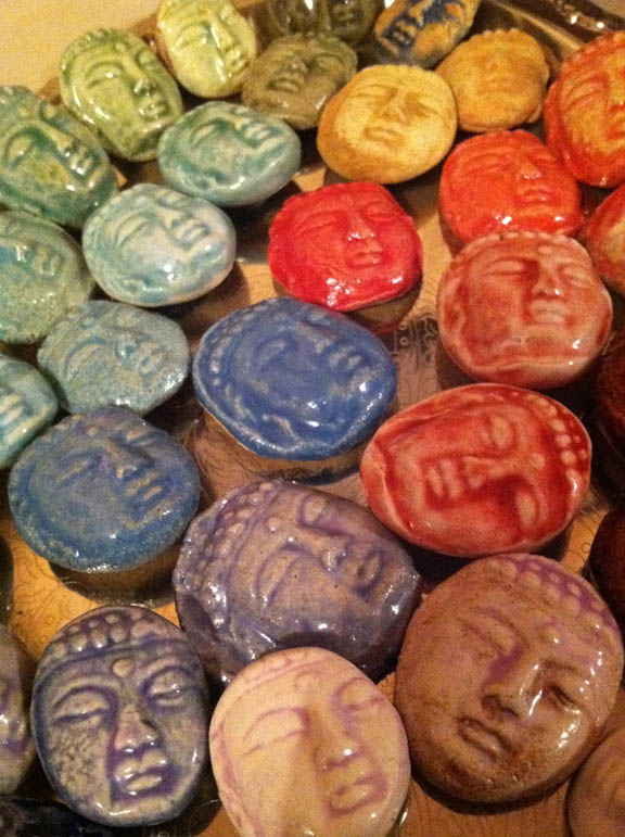 Buddha face magnets