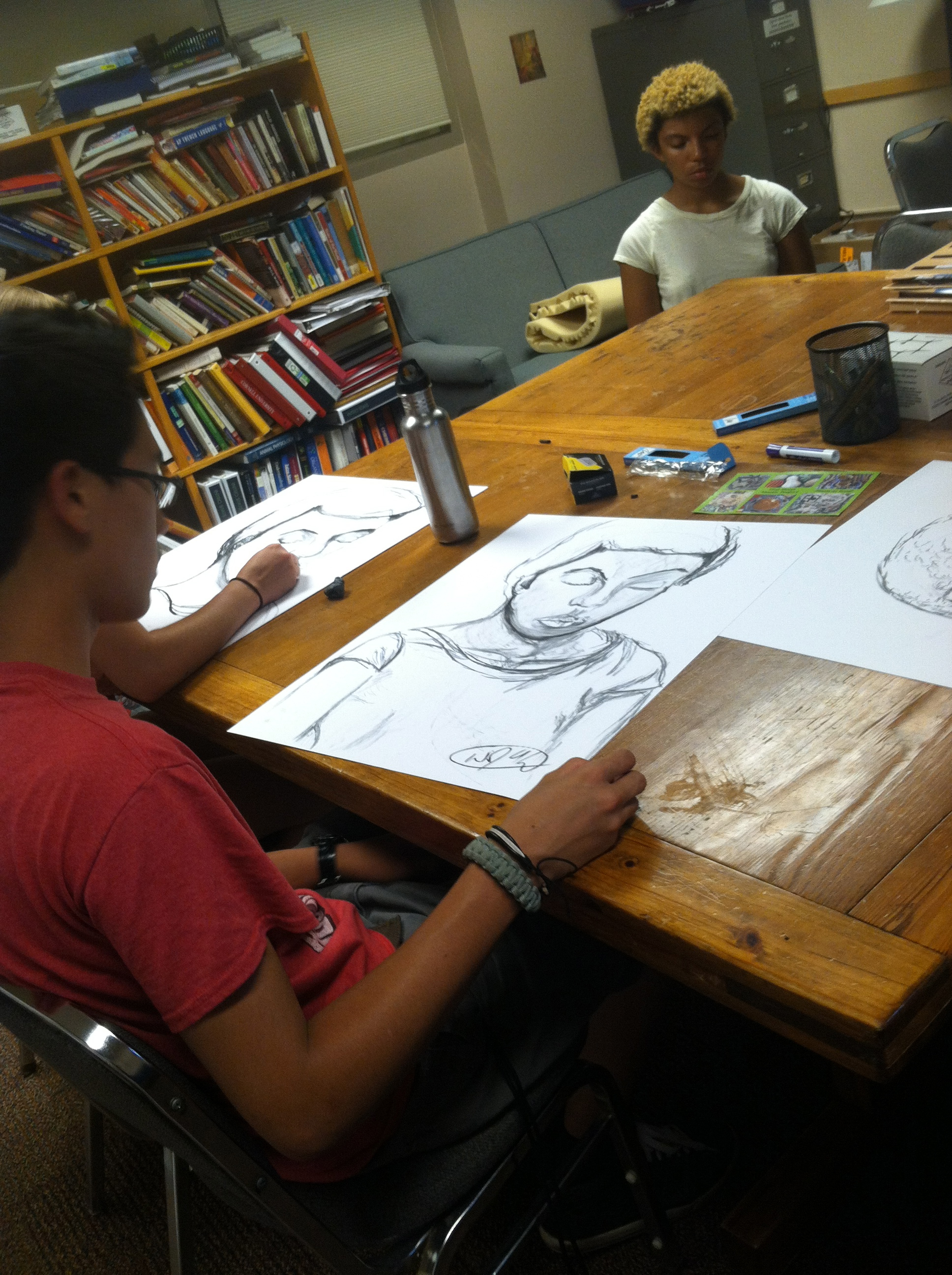 Upward Bound Drawing at Cornell