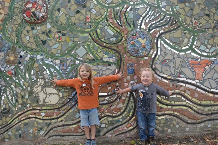 diggin the mosaic