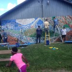 Richford, NY Community Mosaic Complete!